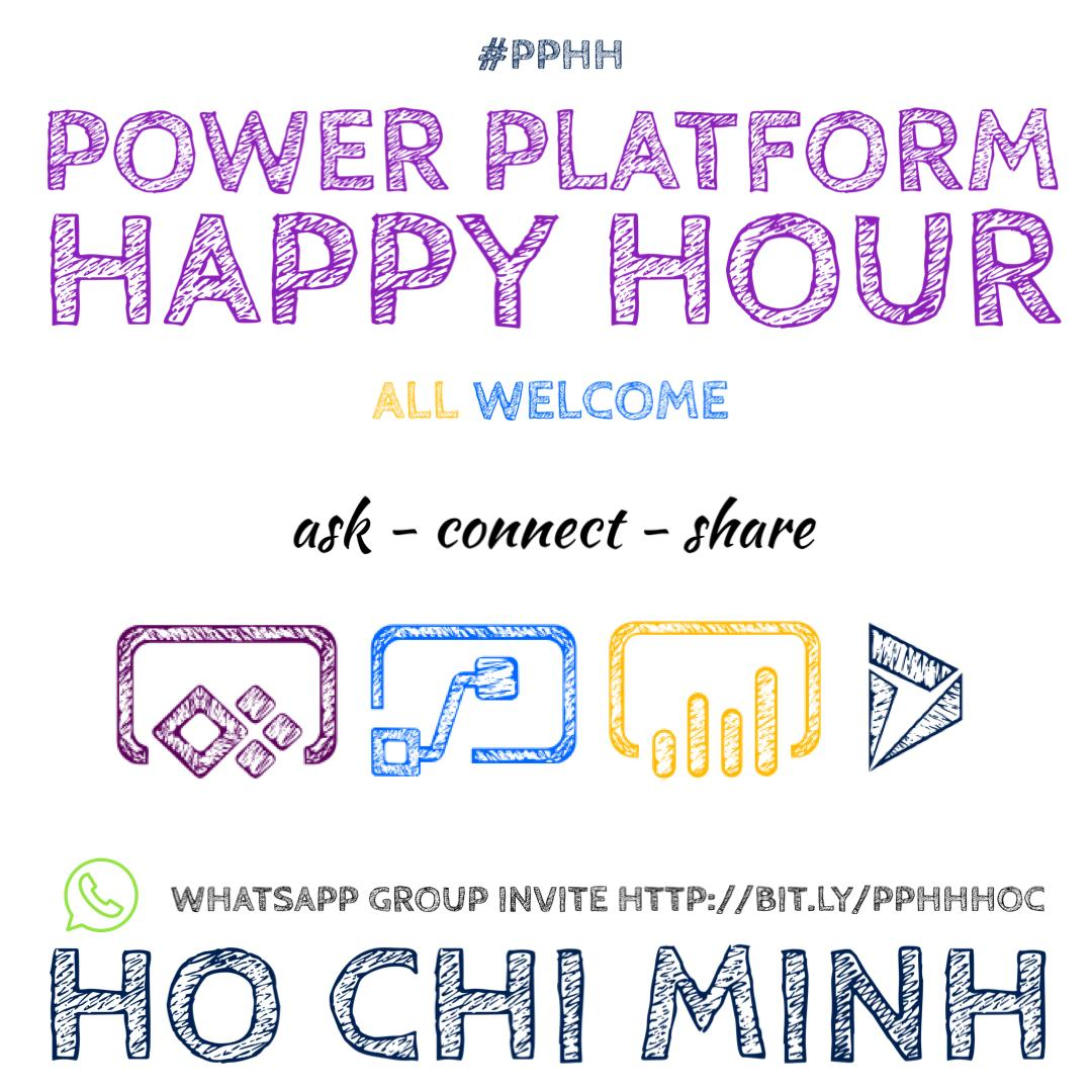 Power Platform Happy Hour in HCMC